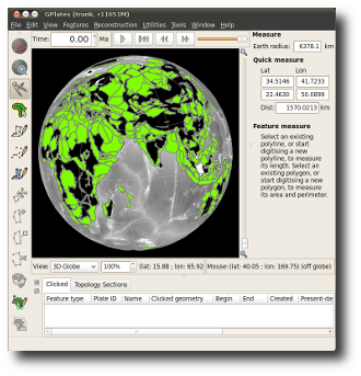 Example GPlates screenshot